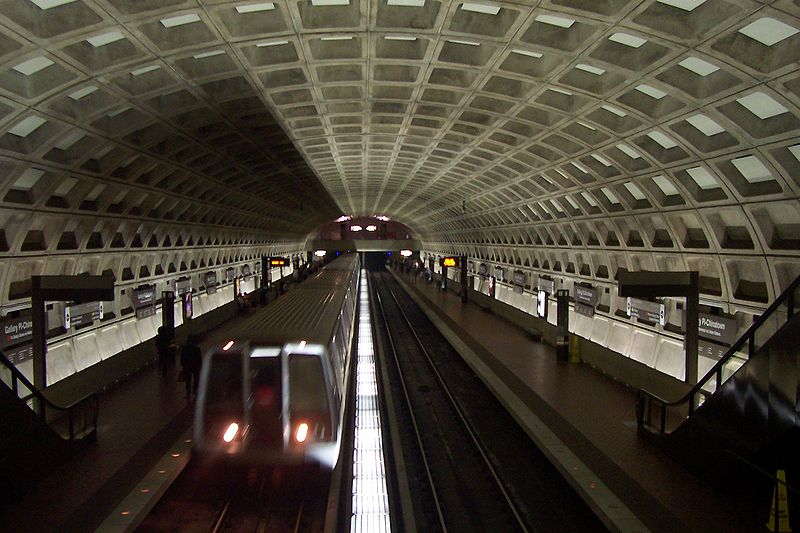 Metro Station view from inside