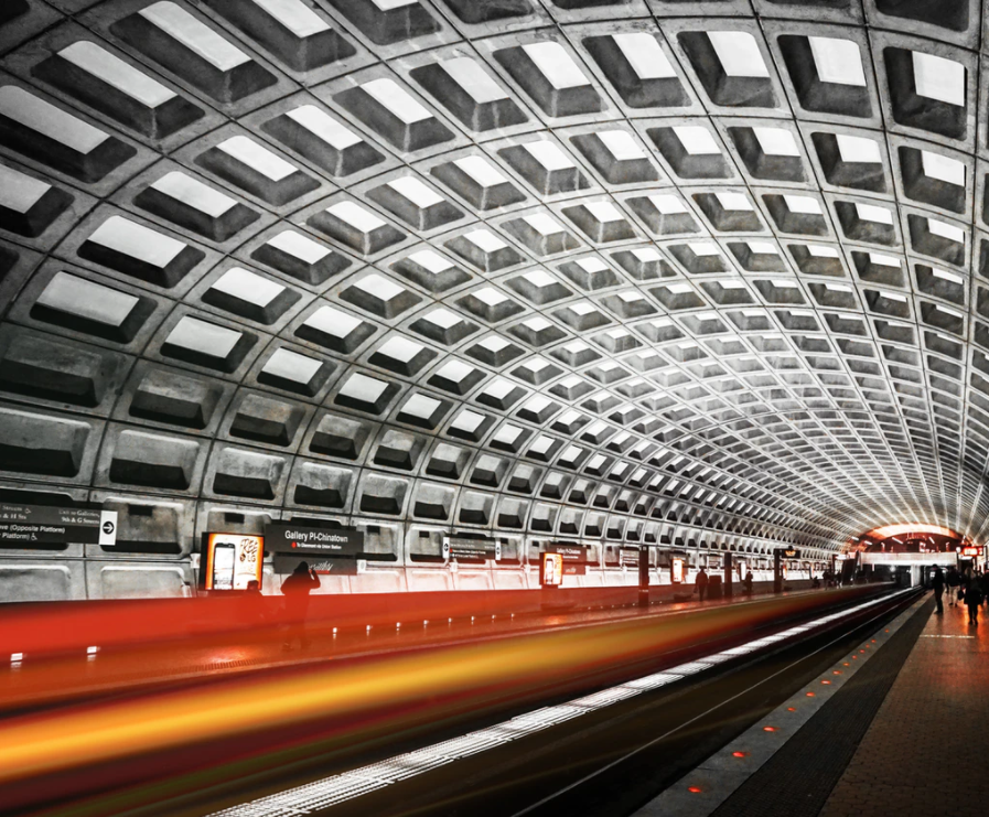 DC Metro Station at Gallery Place - Chinatown